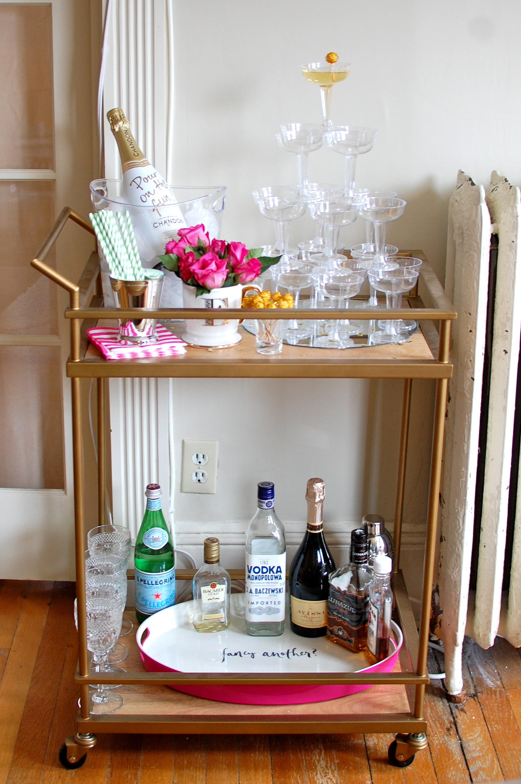 bar cart ideas how to style amp stock your bar cart shell chic d 11951